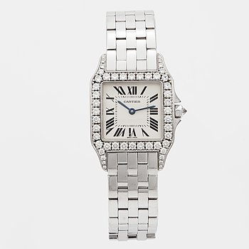 CARTIER, Santos Demoiselle, wristwatch, 26 mm.