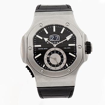 "BVLGARI, Endurer, Chronosprint, ""Daniel Roth"", Chronometer, wristwatch, 51 x 55 mm,"
