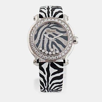 "CHOPARD, Genève, Happy Sport ""Zebra"", armbandsur, 36 mm,"