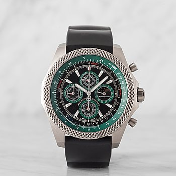 BREITLING, Bentley Supersports Lightbody QP, chronograph, wristwatch, 49 mm,