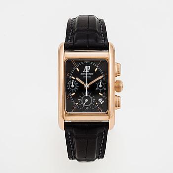 AUDEMARS PIGUET, Edward Piguet, chronograph, wristwatch, 29 x 35,5 (45) mm,