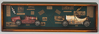 DIORAMA, The history of car racing, modern.