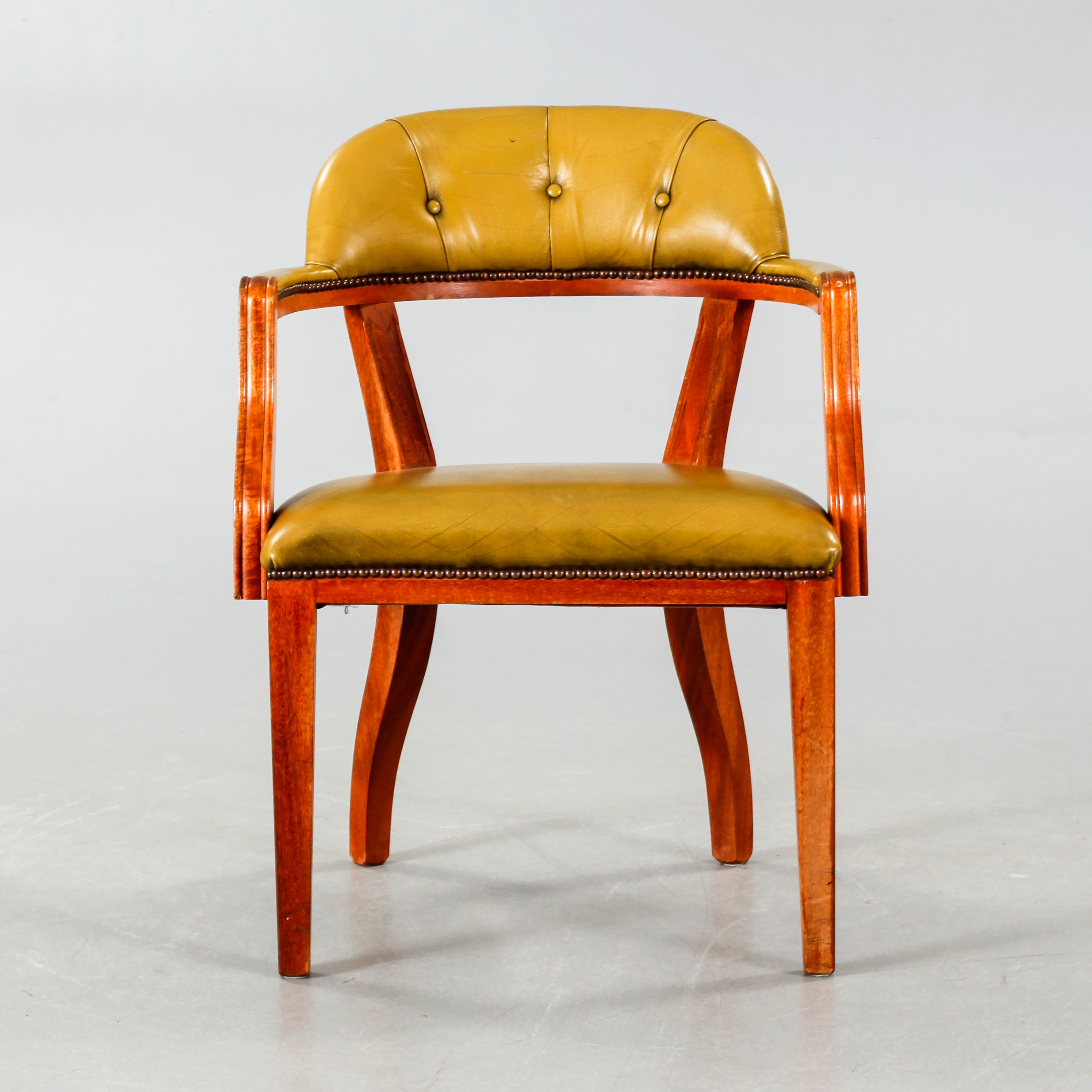 A Desk Chair From The Fourth Quarter Of The 20th Century