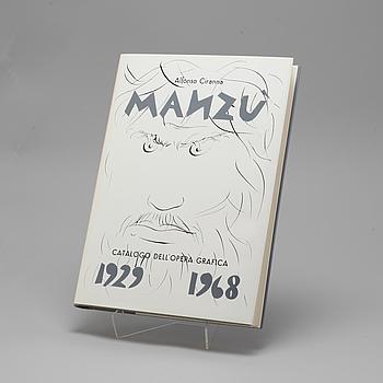 "BOK, ""Manzu"", Alfonso Ciranna, numrerad 141/1000, Italien, 1968."