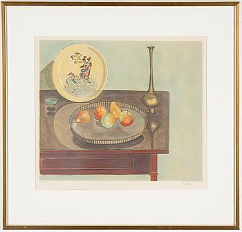 EINAR JOLIN, färglitografi, signerad och numrerad 94/360.