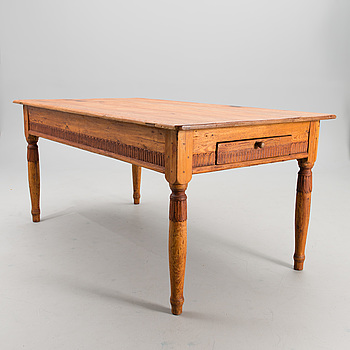 A table around 1800.