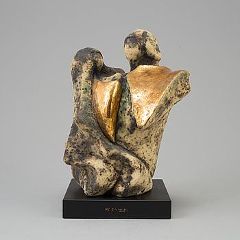 ALF EKBERG, skulptur, signerad.