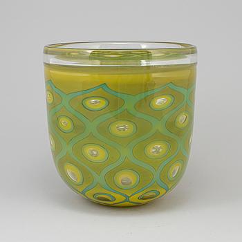 """HANNE DREUTLER, skål, glas, """"Orient"""", Studio Åhus."""