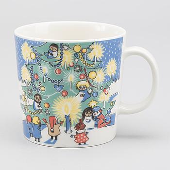 """MUMINMUGG, """"Christmas mug"""" Arabia. 2004/05."""