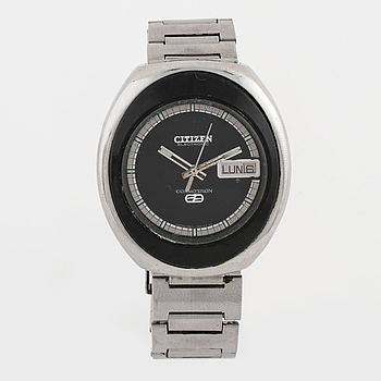 CITIZEN, Electronic Cosmotron, armbandsur, 39 x 43 mm,