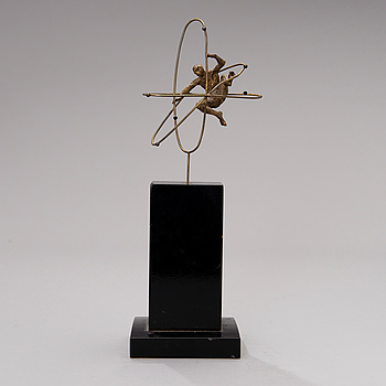 MATTI HAUPT, A bronze sculpture.