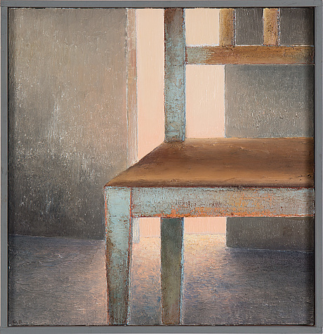GÖran rydÉn, oil on canvas, signed gr and dated  94 on verso