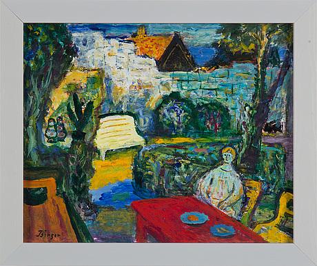 Birger birger-ericson, oil on panel, signed.