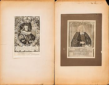 PARTI KOPPARSTICK, 15 st, 1600-1800-tal.