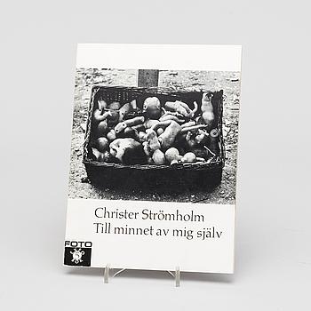CHRISTER STRÖMHOLM, CHRISTER STRÖMHOLM, pre opening brochure, Nordisk rotogravyr 1965.