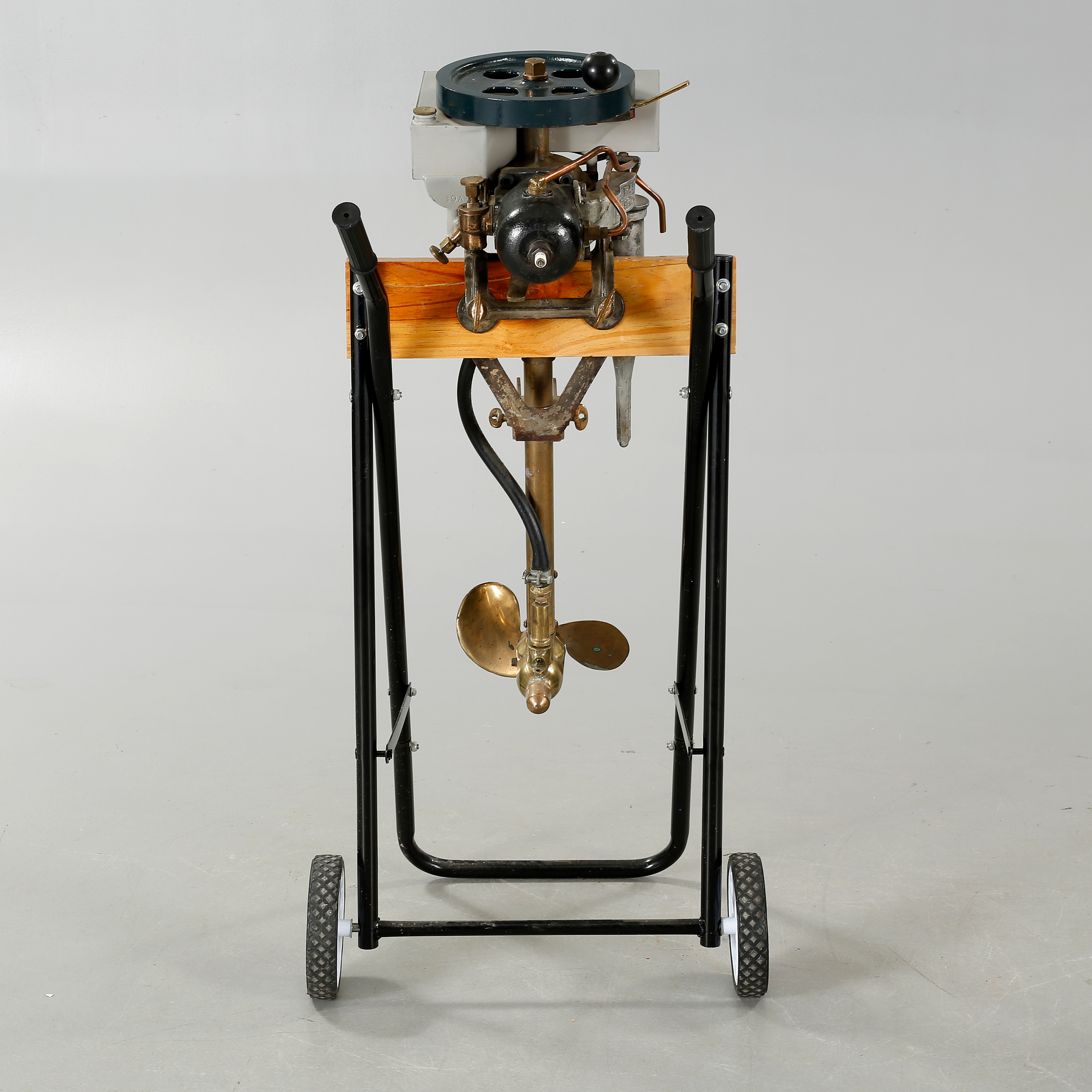 An Early 20th Century Rowboat Motor By Evinrude Detachable