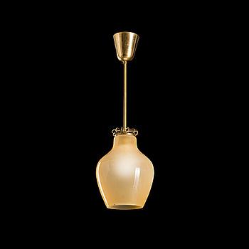 PAAVO TYNELL, taklampa, modell 1093, Idman 1900-talets mitt.