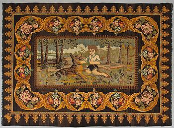 A KILIM, Bessarabian, around 300 x 218 cm.