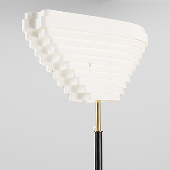 """A FLOOR LAMP, A 805 """"Angel's Wing"""". Manufactured by Valaistustyö. Designed in 1954."""