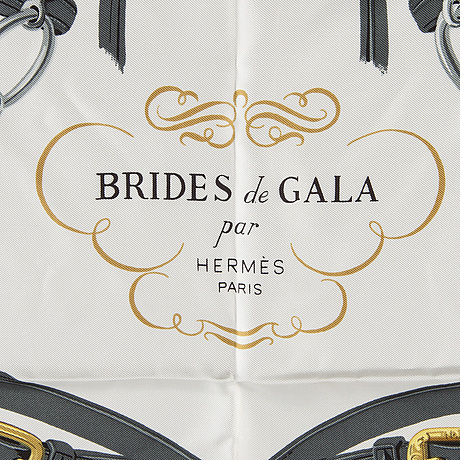 """Scarf, """"brides de gala"""", hermès."""