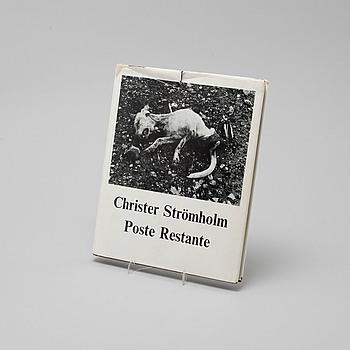 """BOK, Christer Strömholm, """"Poste Restante"""", P.A Norstedt & Söners Förlag, Stockholm, 1967."""