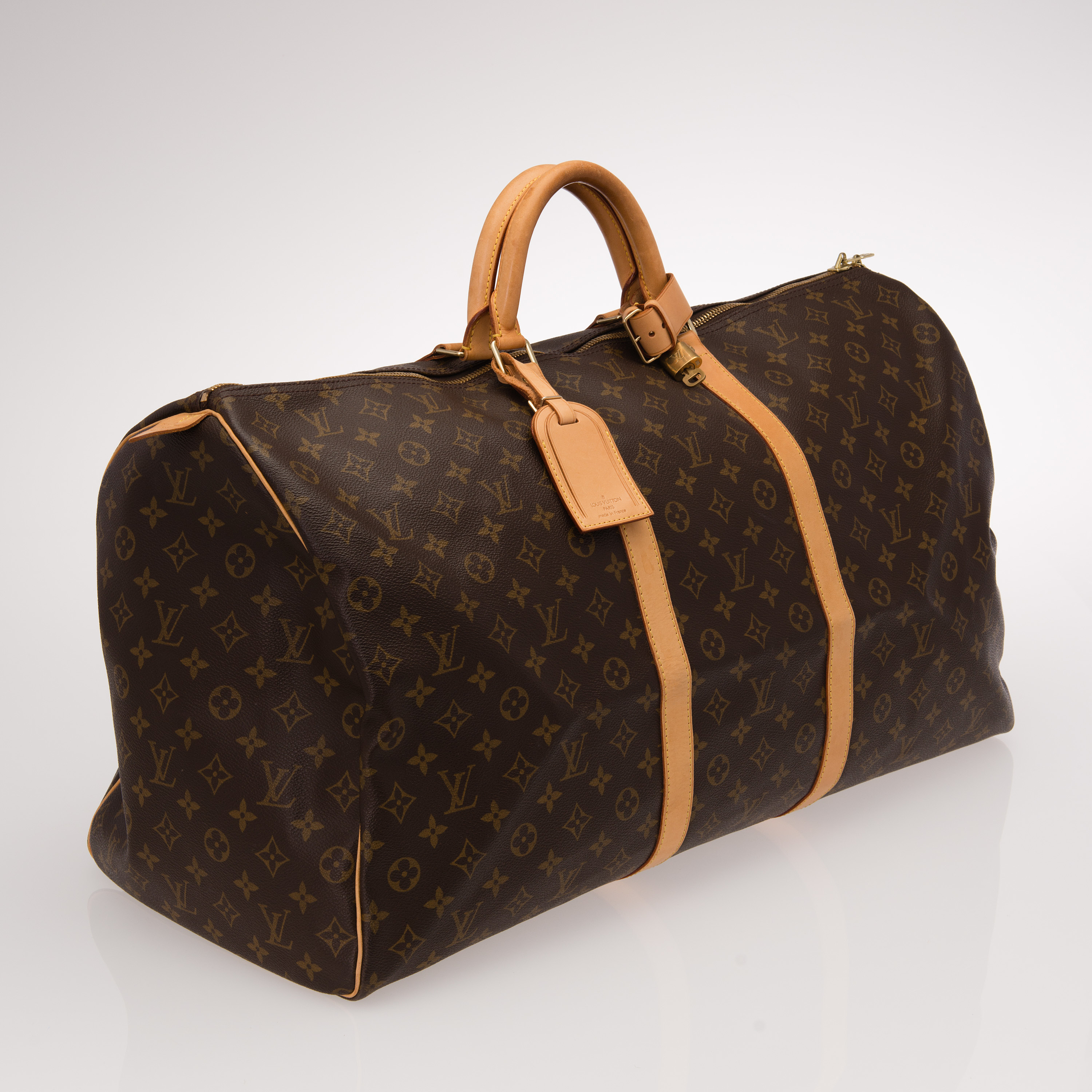 Louis Vuitton Aito Laukku : Louis vuitton quot keepall laukku bukowskis