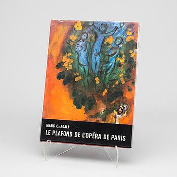 """BOK, """"Le plafond de l`Opera de Paris"""", Marc Chagall, André Sauret Monte Carlo 1965."""