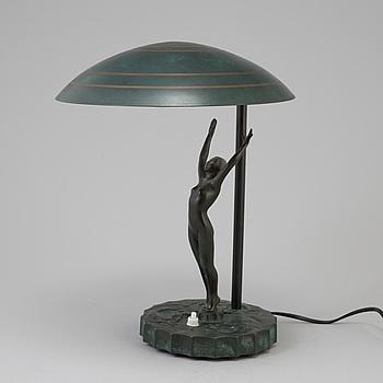 BORDSLAMPA, Art Deco, 1920-30-tal.