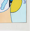 Marie-louise ekman, laminated inkjet print/multipel, signed m.l ekman, dated 2003 and numbered 4/4.