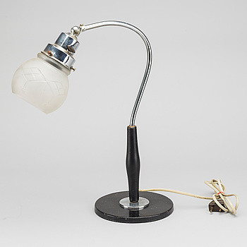 A table lamp, 20th century,