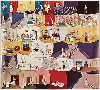 MARIE-LOUISE EKMAN, affisch, offset, 1970-tal.
