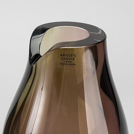 Gran Wrff A Pair Of Opus Kosta Boda Glass Vases Bukowskis