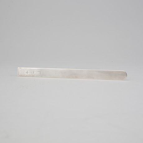 A wiwen nilsson sterlingsilver letter knife, lund 1973. weight 50 grams.