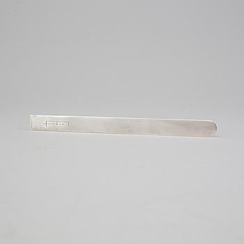 WIWEN NILSSON, brevkniv av sterlingsilver, Anders Nilsson, Lund 1973. Vikt ca 50 gram.