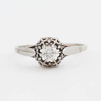 RING med gammalslipad diamant.