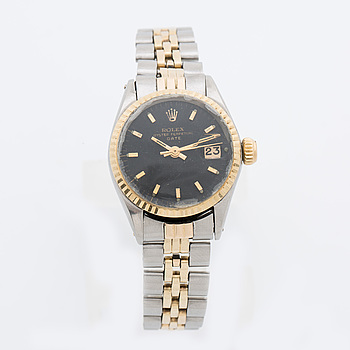 ROLEX, Oyster Perpetual Date armbandsur, ca 26 mm,