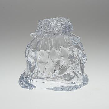 FREDRIK NIELSEN, skulptur/vas, glas, signerad Fredrik Nielsen och daterad -06.