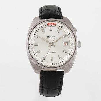 ROYAL, armbandsur, 39,5 (49,5) mm.