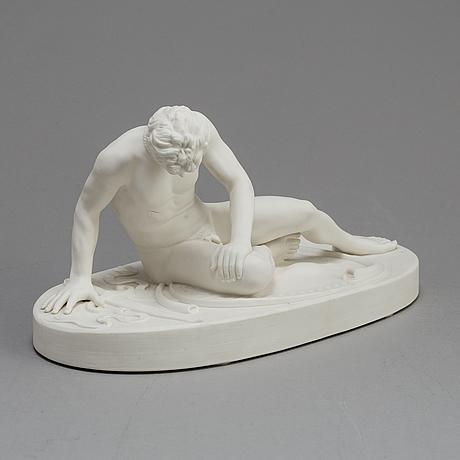 A parian figure, gustafsberg 1891