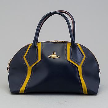 VIVIENNE WESTWOOD, VIVIENNE WESTWOOD, a leather bag.