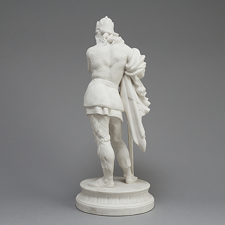 A late 19th century parian figure, gustafsberg
