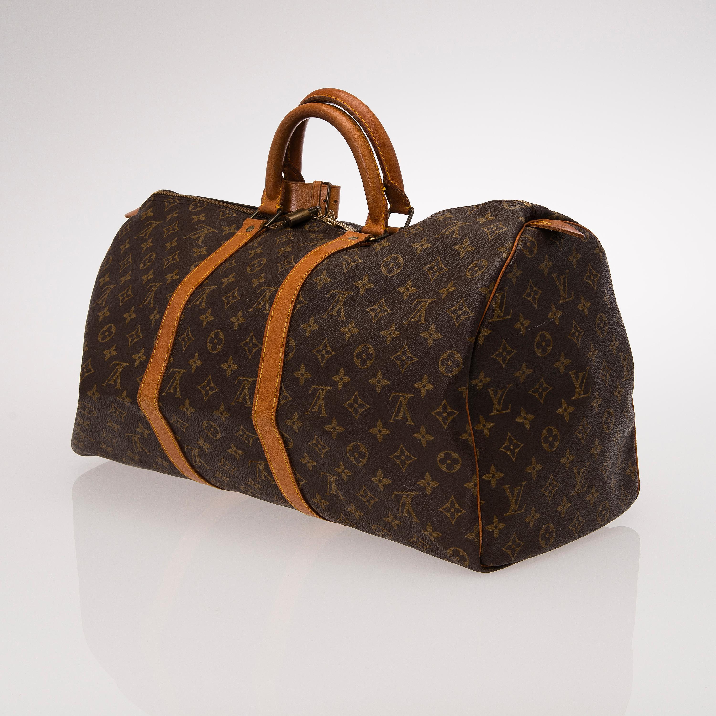 Vintage Louis Vuitton Keepall Duffle Bag   ReGreen Springfield 5f2d67446d