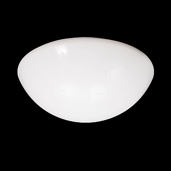"TAKLAMPA, ""Semisfera"", modell 2771/80/L, Martinelli Luce, formgiven av Elio Martinelli 1971."
