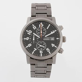 OTTIMO, Chronograph Professional, armbandsur, kronograf, 39,5 mm.