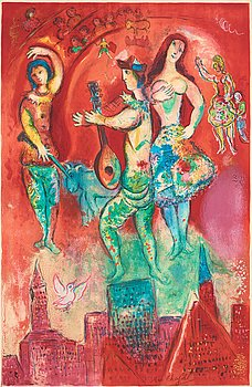 "381. Marc Chagall After, ""Carmen""."