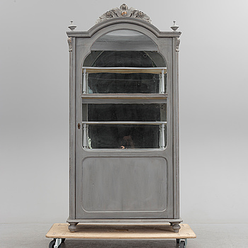 A 19th century viewing cabinet.