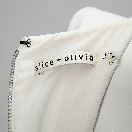 Cocktail dress, alice + olivia, size 4
