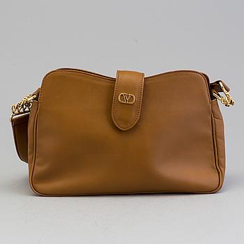 VALENTINO GARAVANI, a leather sholder bag.