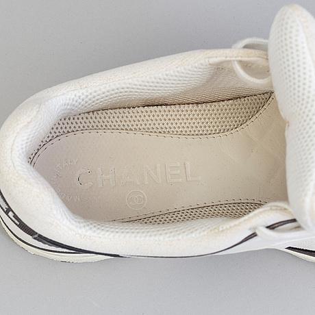 Sneakers, chanel, storlek 36.