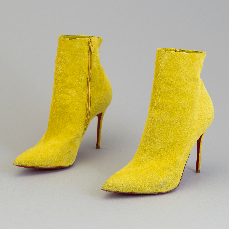 a6845e878a98 ... leather d80f5 c7401  germany ankle boots christian louboutin size 365.  bukowskis e497f 53d6a